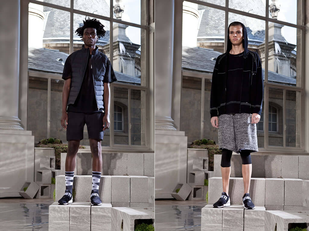 Apparel by White Mountaineering And Adidas Originals
