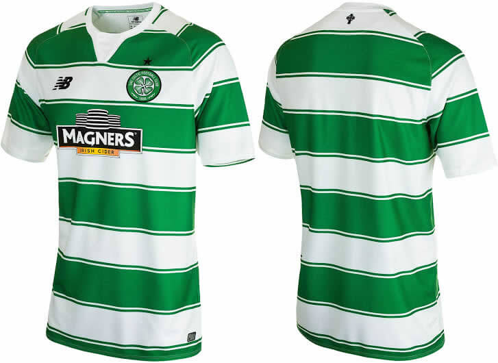 Celtic FC 2015-16 Home Kit By New Balance