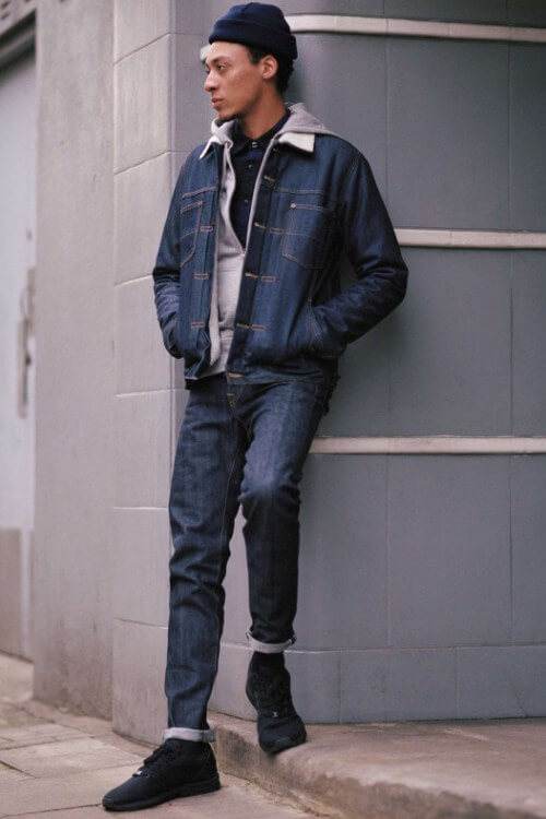 Fall Winter Collection By Edwin, Denim Outfit