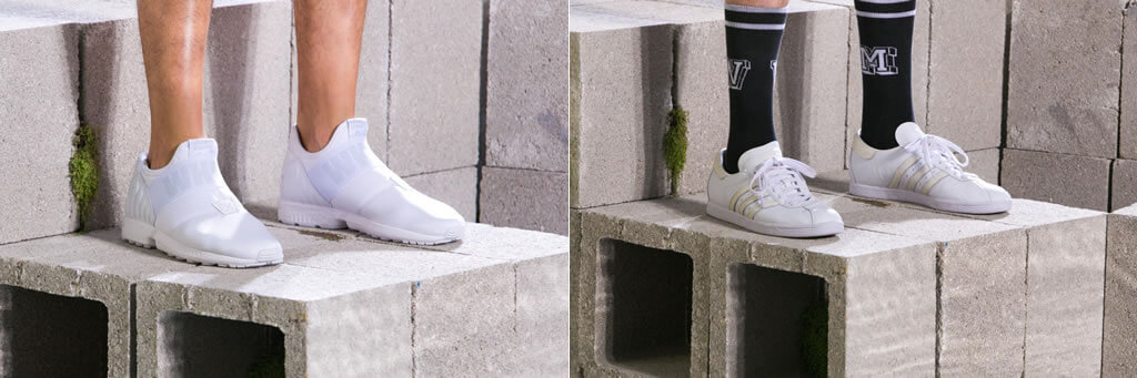 Footwear By White Mountaineering And Adidas Originals