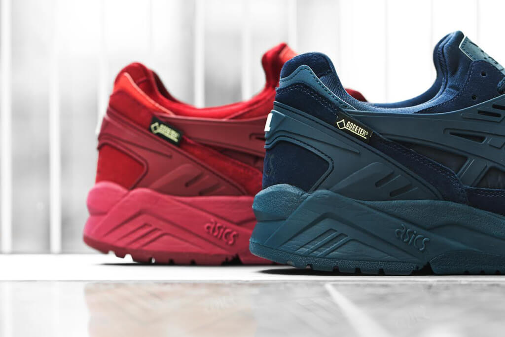 asics gel goretex