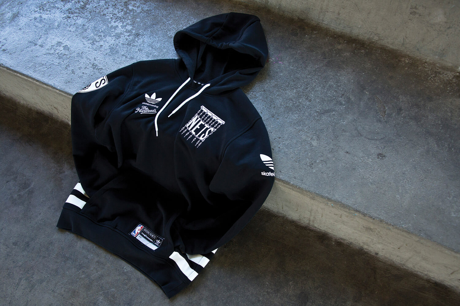 Hoodie ,Capsule Line By Adidas xThe Hundreds