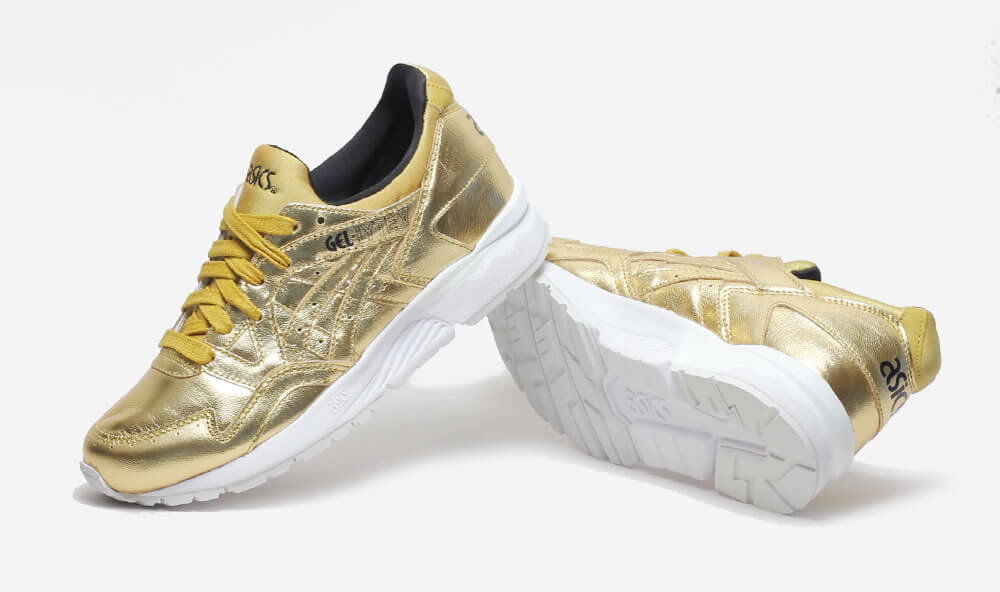 Lavish ASICS Gel-Lyte V Sneaker In Liquid Gold