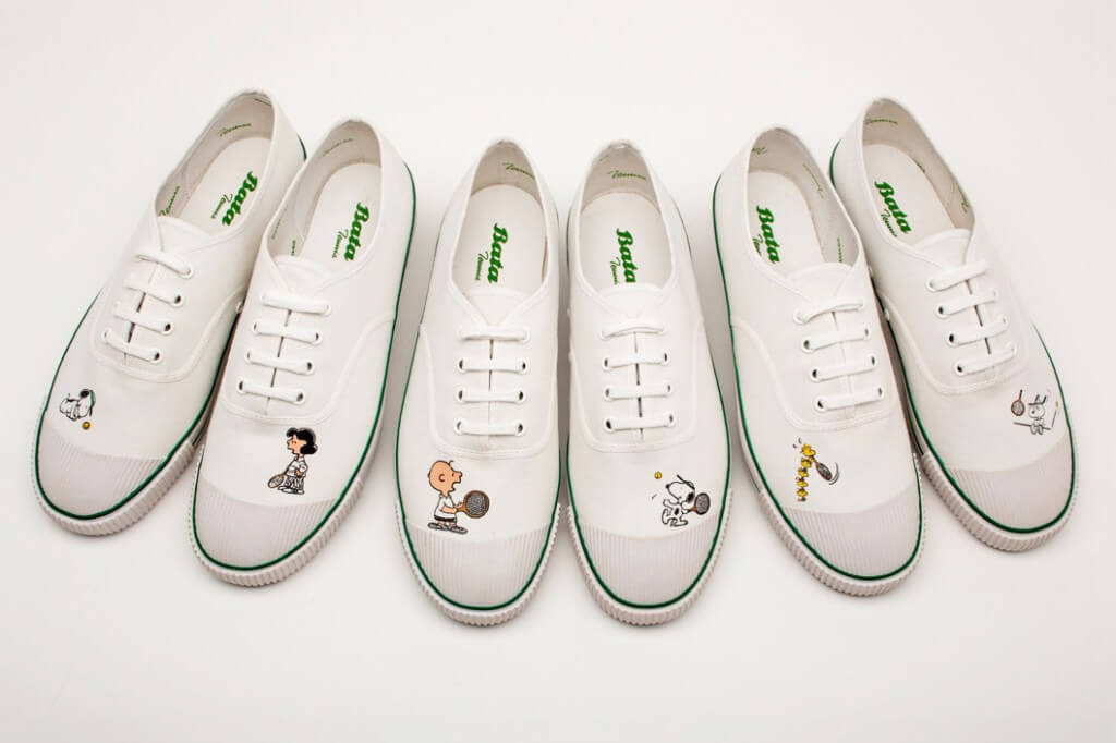 Peanuts Shoe By Bata Tennis