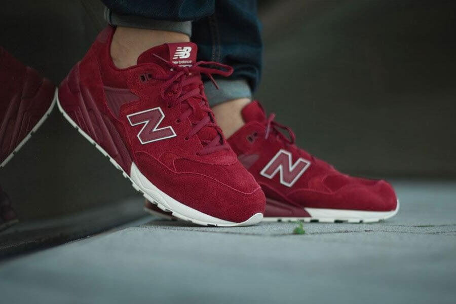 Red MRT580 Sneaker, Tonal Pack By New Balance