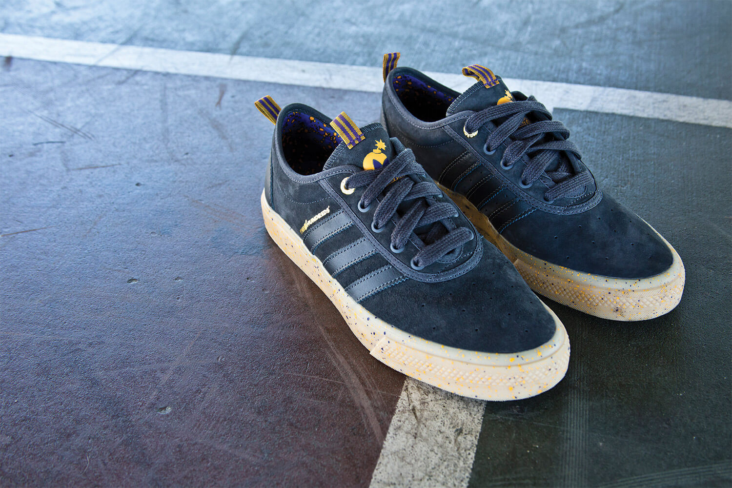 Sneakers ,Capsule Line By Adidas Skateboarding xThe Hundreds