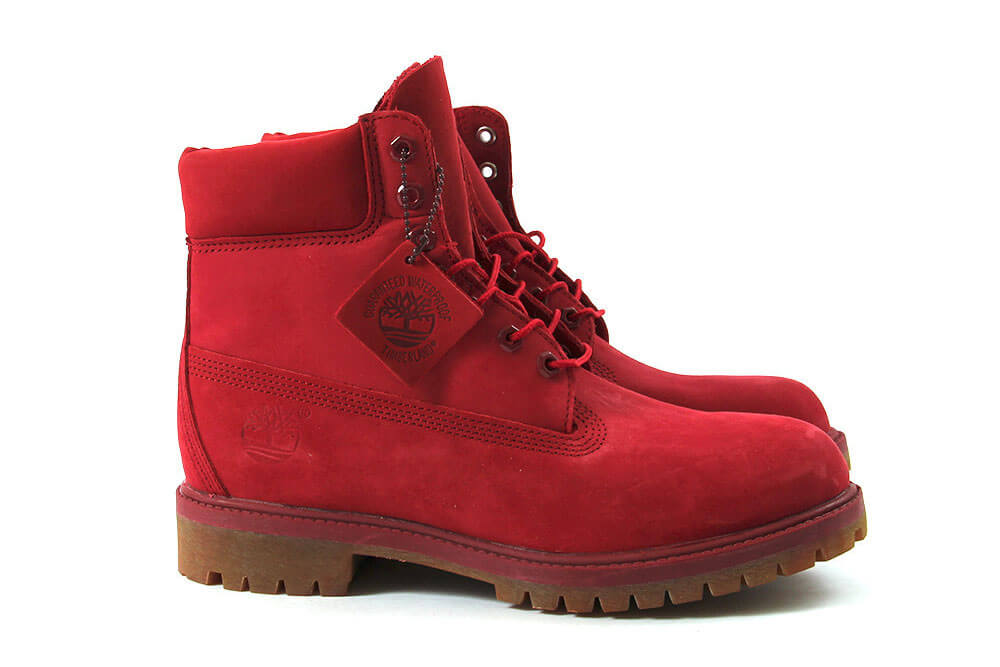b33da476723f Timberland s 6-Inch Boots Receive A Red Mono Colorway