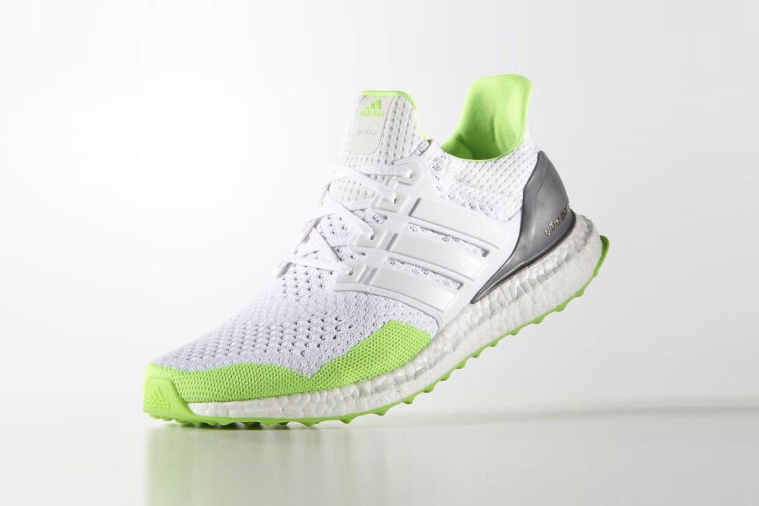 Ultra Boost Sonic Green Sneaker By Kolor x Adidas