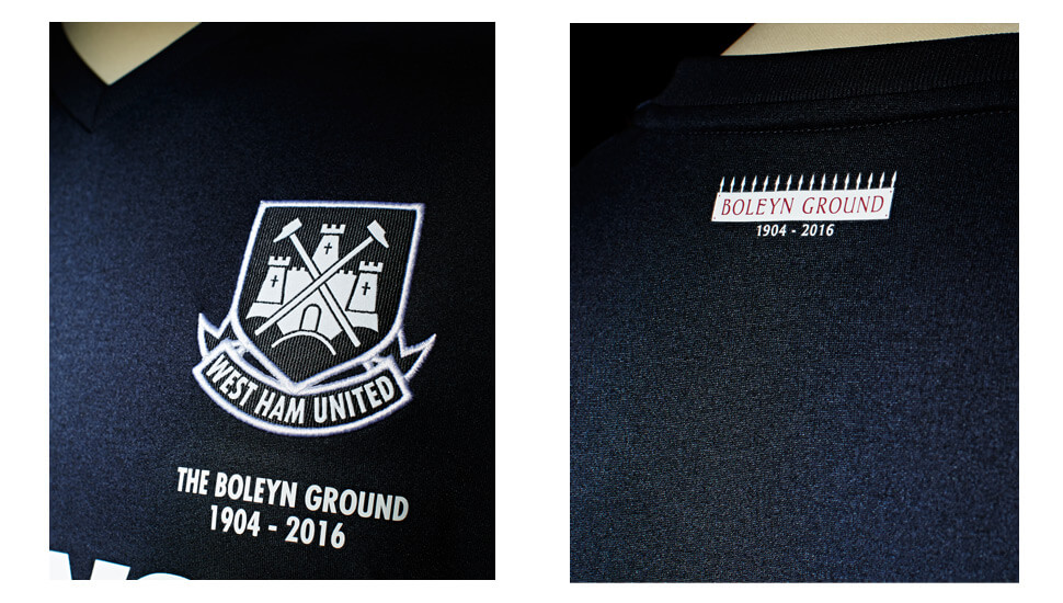 West Ham 2015-16 Third Jersey