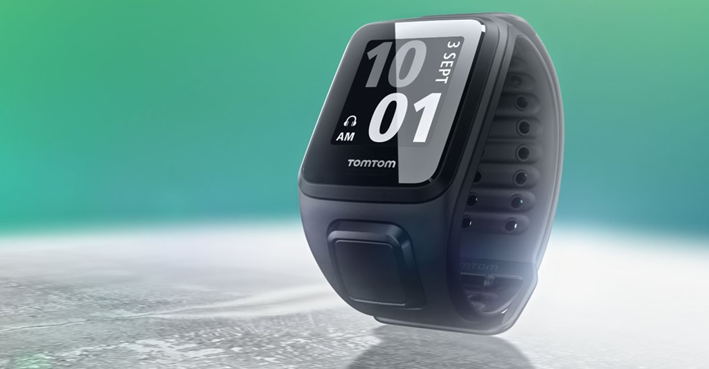 Activity Tracker and Music By TomTom