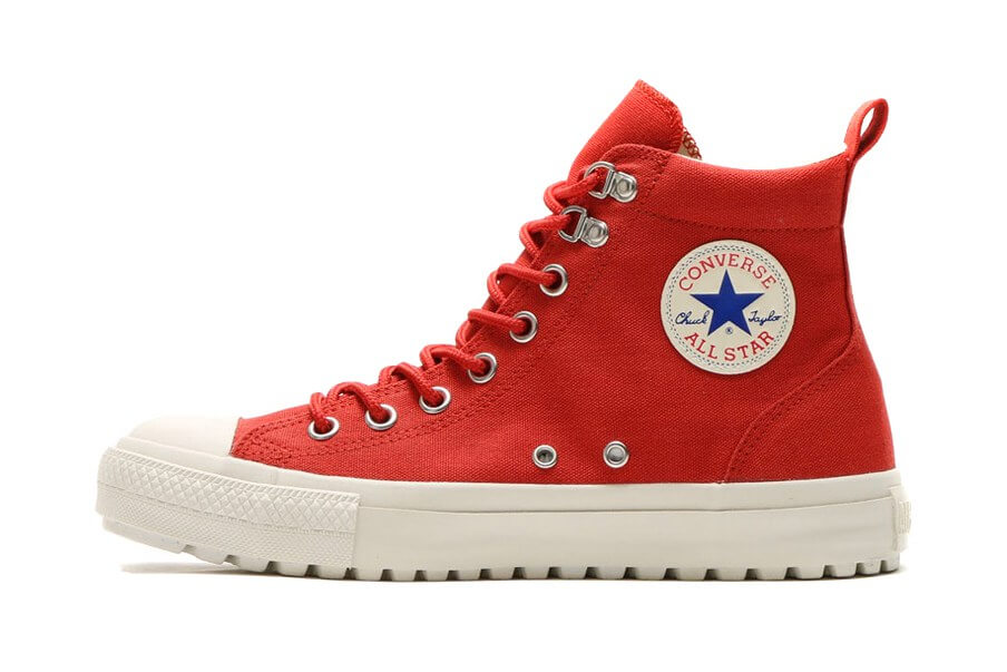 All Star Boot Collection, Brick Red Chuck Taylor Shoes