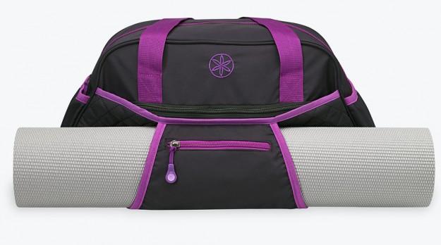 Black Duffle Bag For Yoga Mat