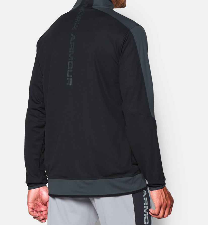 Black Under Armour Warm Up Jacket