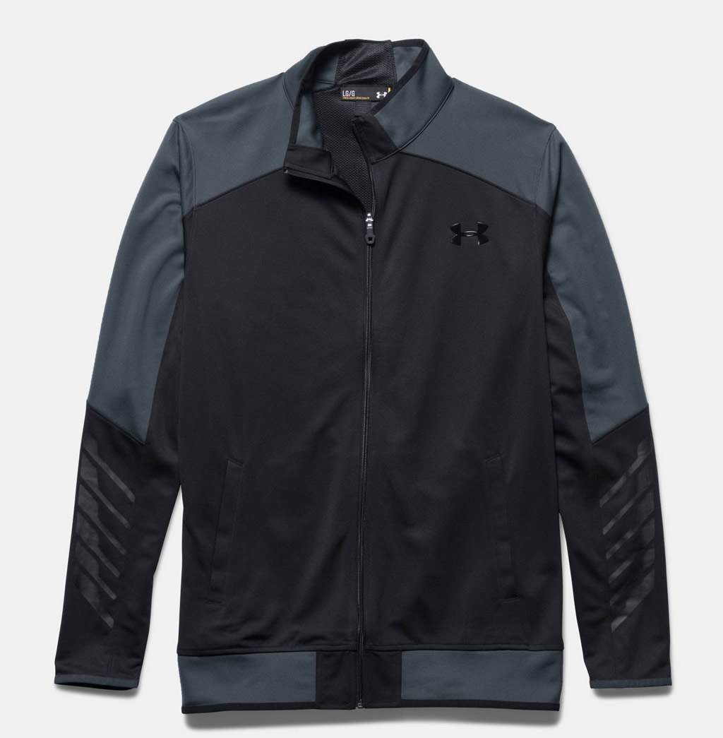 Black Warm Up Jacket by Under Armour