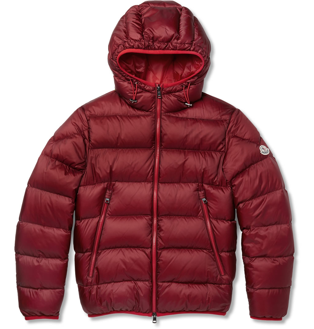 Chauvon Quilted Shell Down Jacket By Moncler