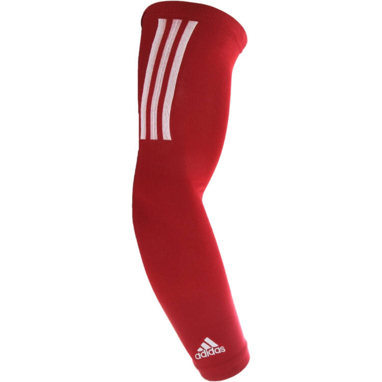 Compression Red Arm Sleeve By Adidas