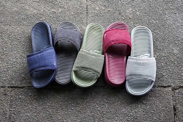Corduroy Benassi Solarsoft Slide Pack By Nike