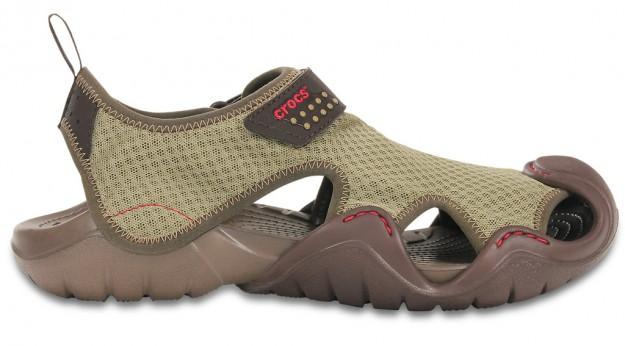 Crocs Khaki Men's Swiftwater Sandal