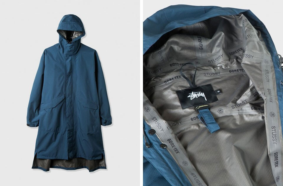 GORE-TEX Paclite Shell Coat By Stussy