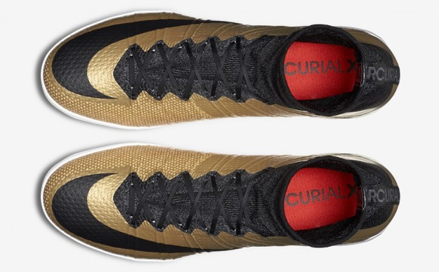 Metallic Gold Mercurial 2015-2016 Boots By Nike