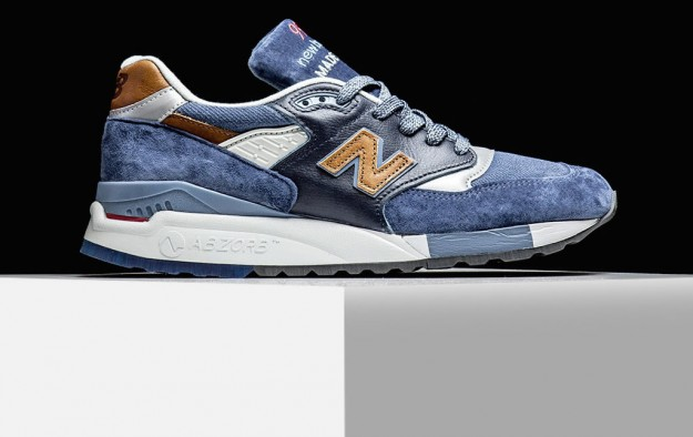 New Balance 998 In Camel Blue