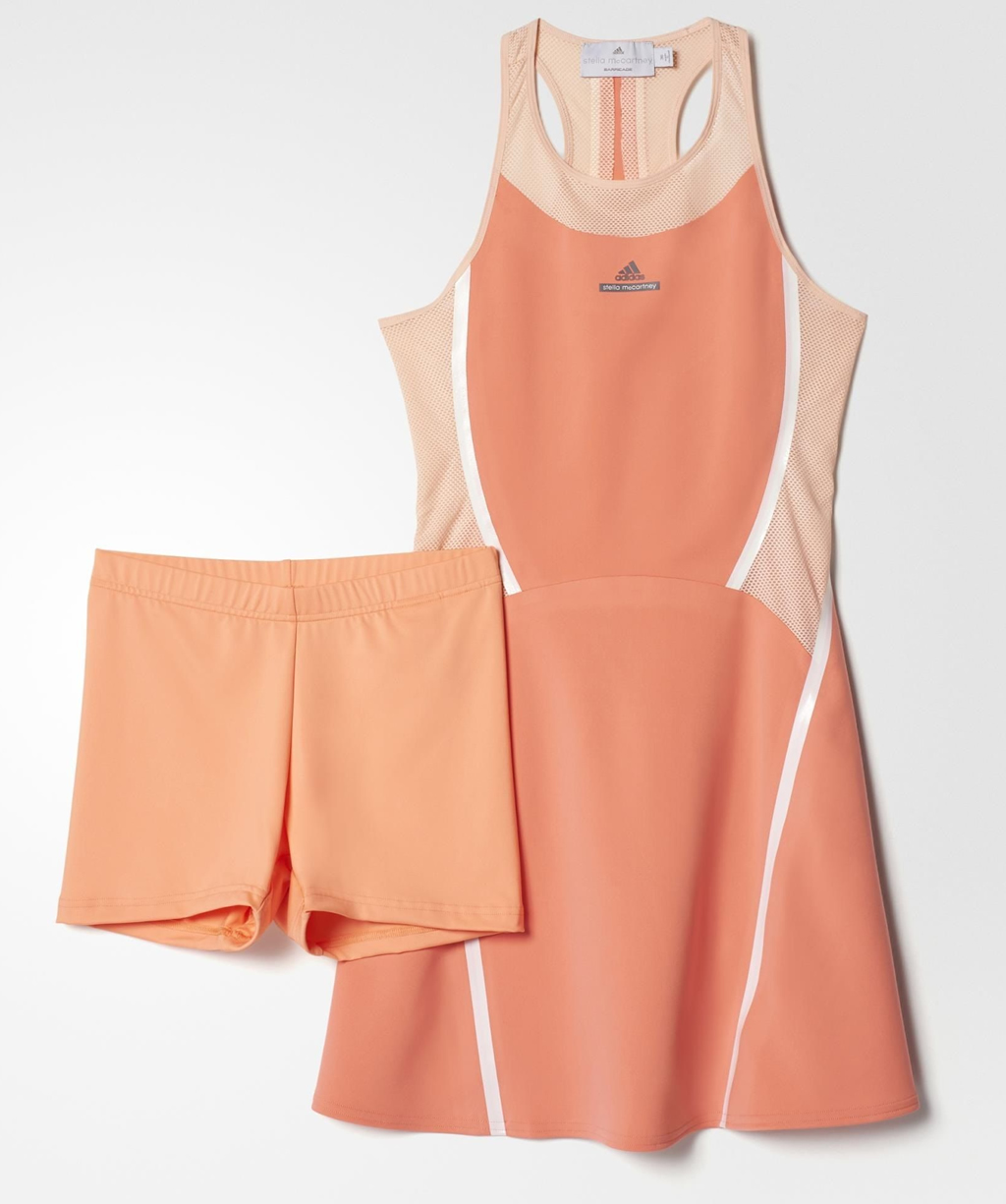 Pink Ladies Tennis Dress by Adidas