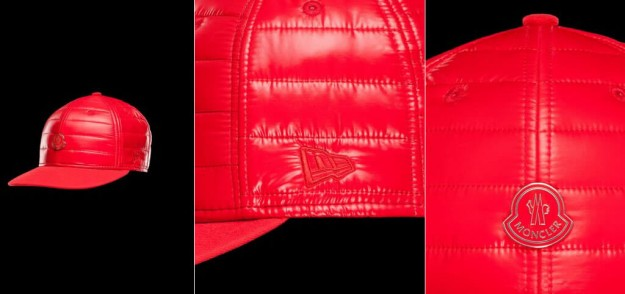Red Snapback By Moncler & New Era