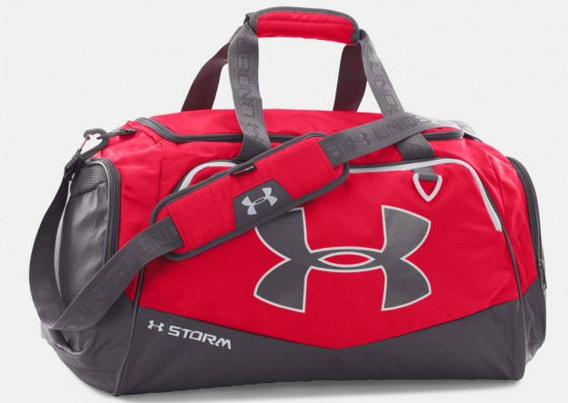 Under Armour Red Duffle Bag