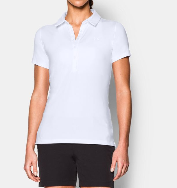 White Women's Zinger Golf By Under Armour