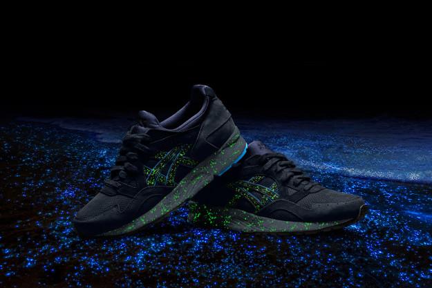 Asics GEL-Lyte III & GEL-Lyte V Glow-in-the-Dark Running Shoes