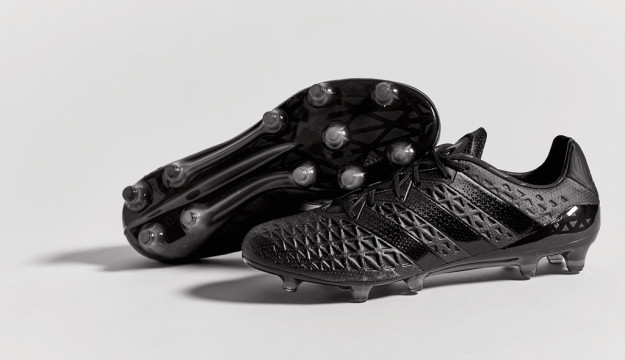 Black Adidas Etch Ace16 Boots