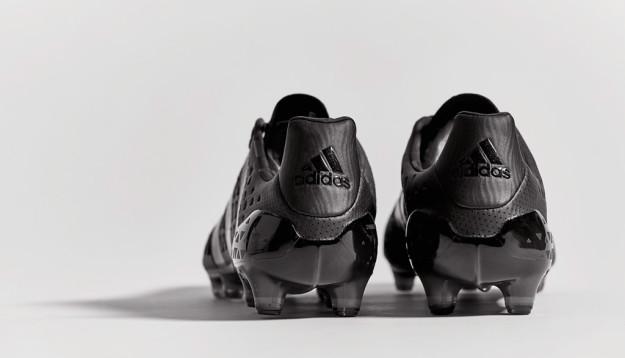 Black Adidas Etch Ace16 Boots, Heel Tab