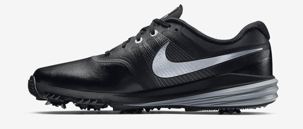 Black-Grey Nike Lunar Command Golf Shoe