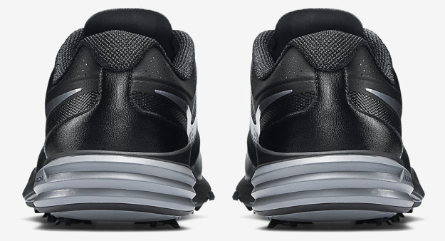 Black-Grey Nike Lunar Command, Heel Tab