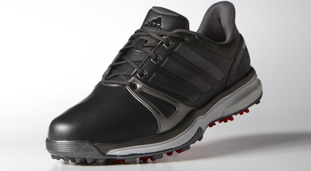 Black-Grey adidas adipower BOOST 2 Golf Shoe
