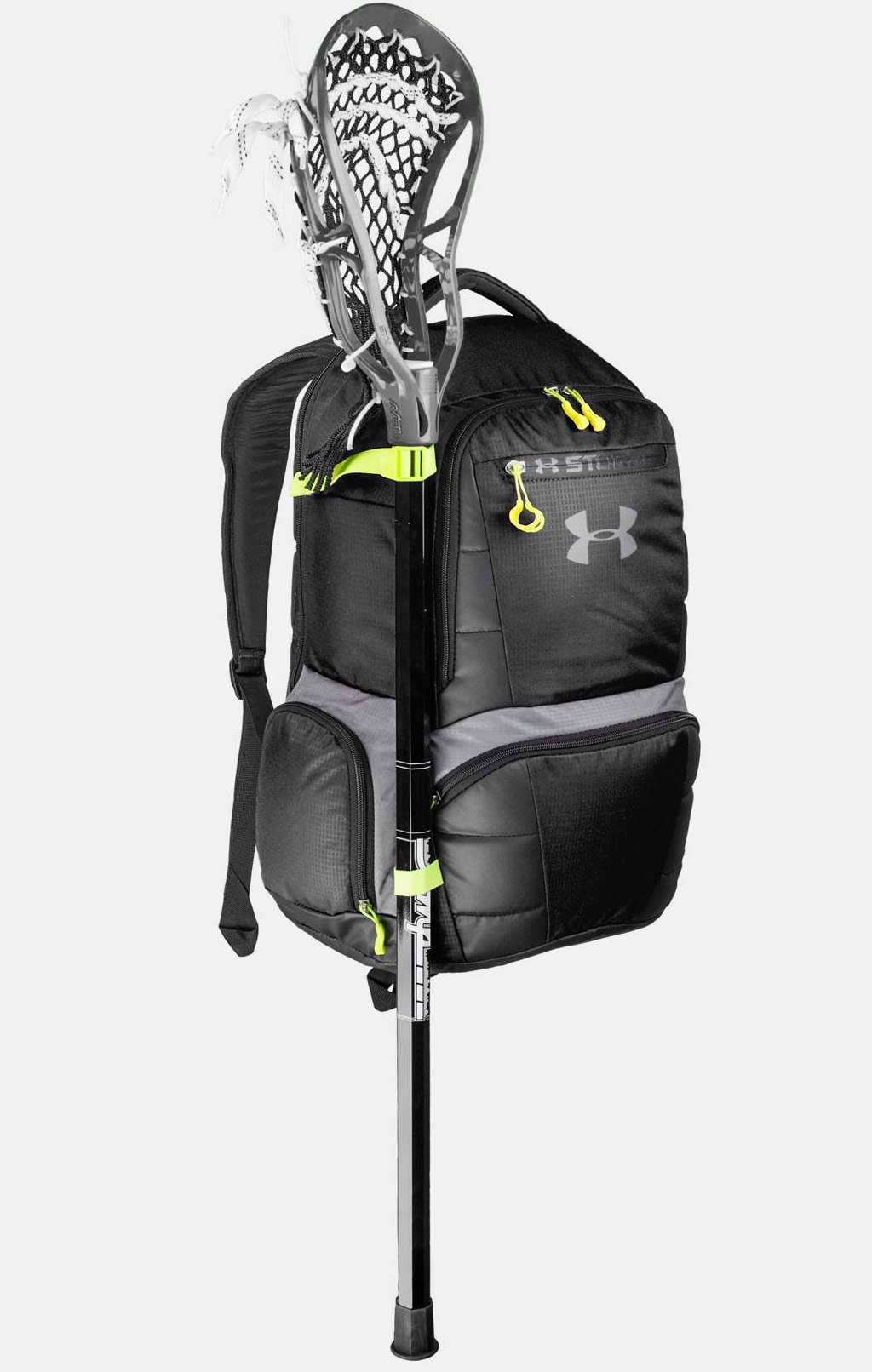 Black Lacrosse Backpack Equipment Bag By Under Armour