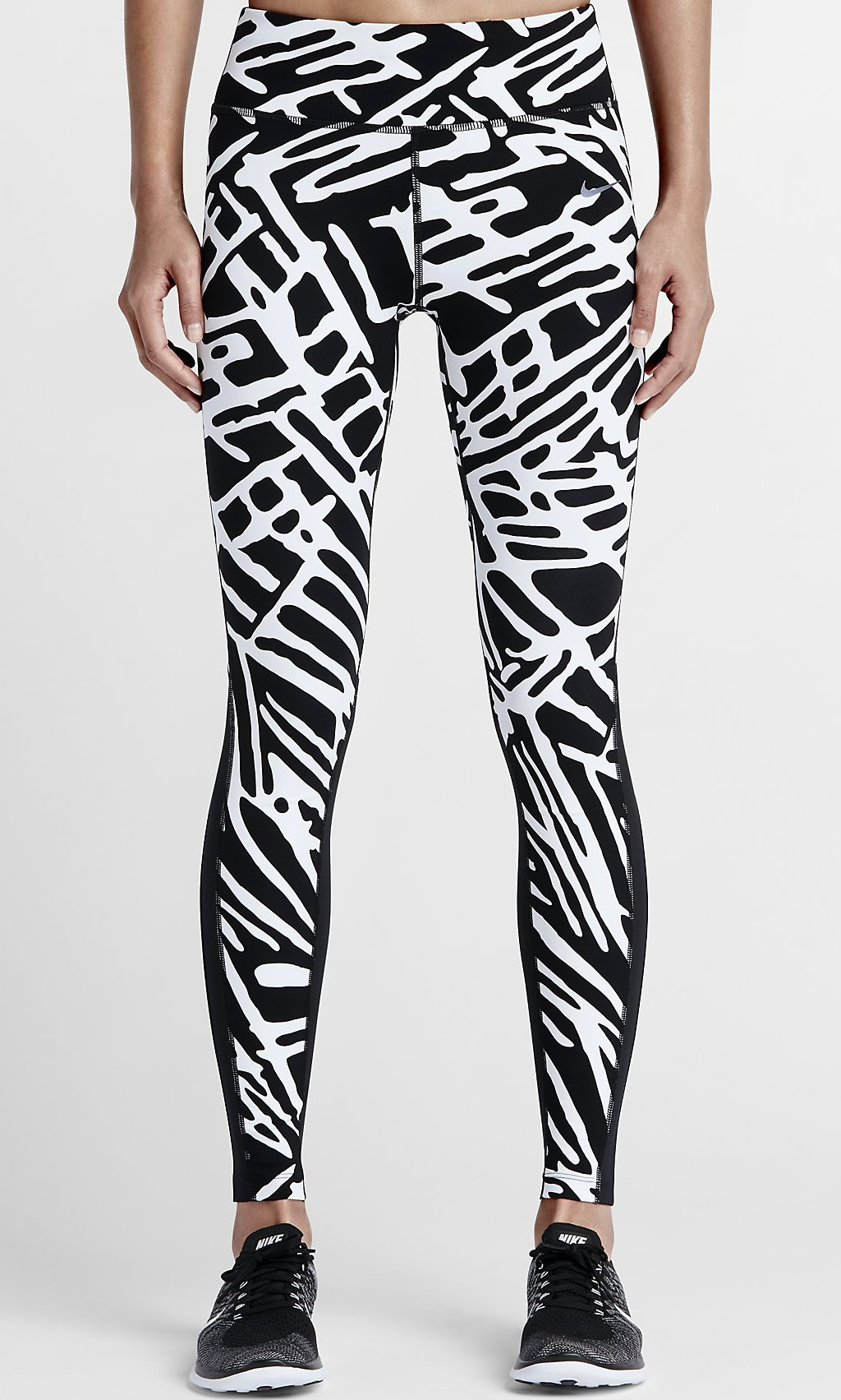 Black Nike Palm Epic Lux Women's Running Tights