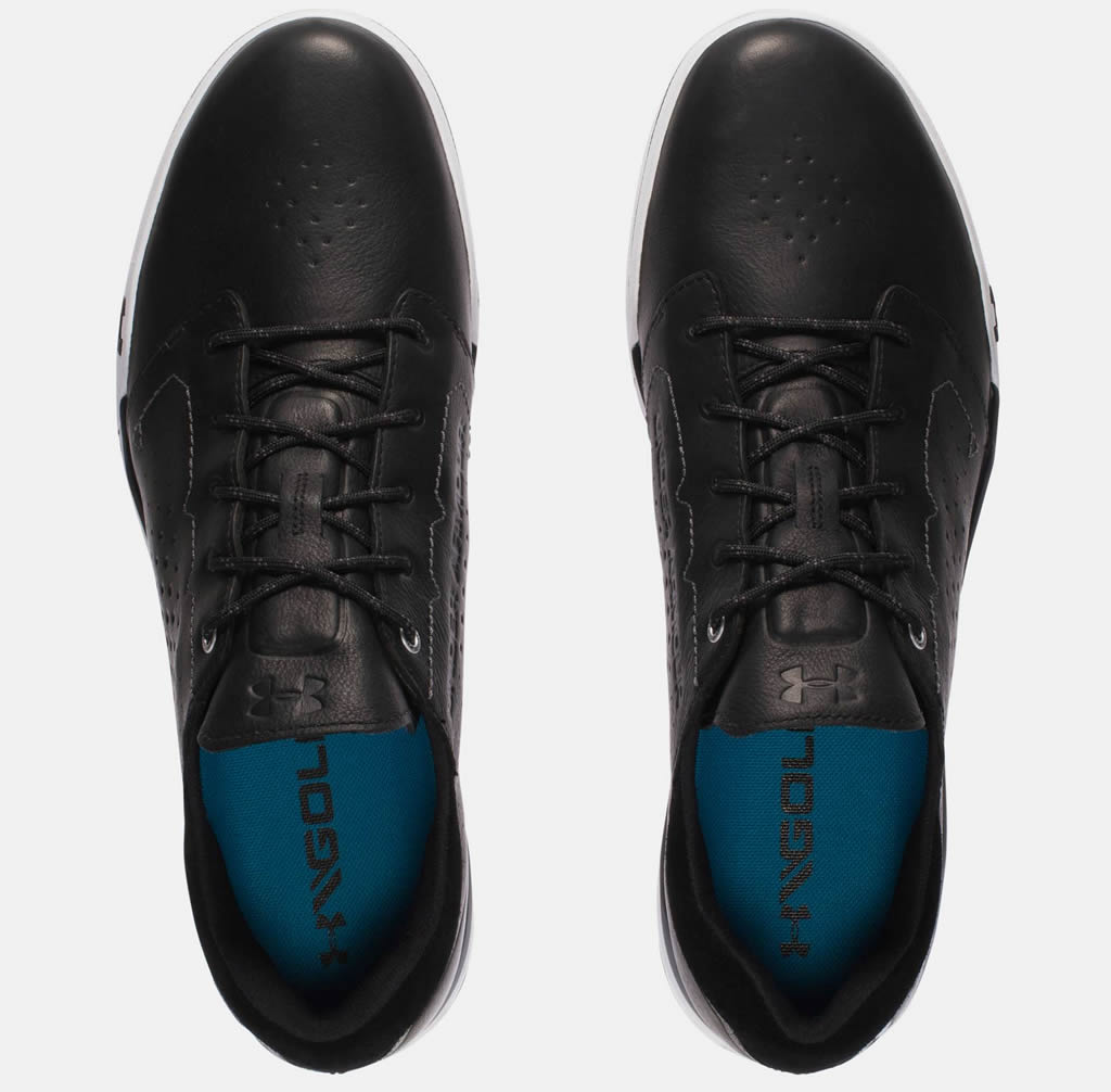 Black Tempo Hybrid Golf Shoe by Under Armour