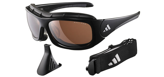Black Terrex Pro adidas cricket sunglasses