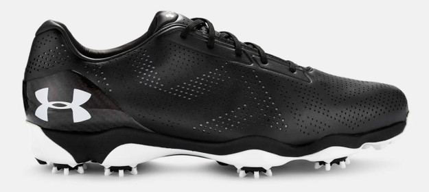 Black Under Armour Drive One Golf Shoe