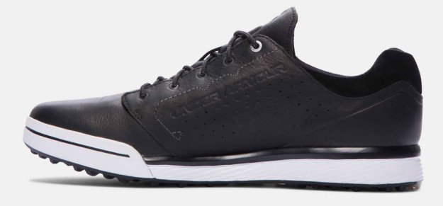 Black Under Armour Tempo Hybrid Golf Shoe