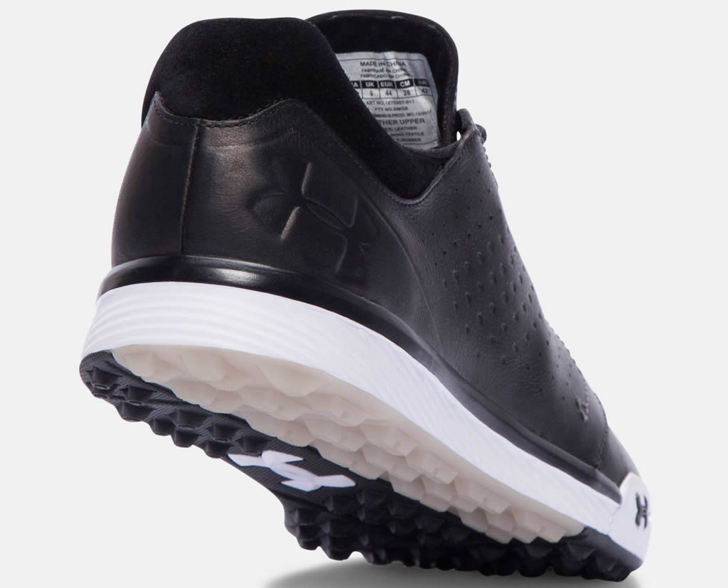 Black Under Armour Tempo Hybrid, Heel Tab