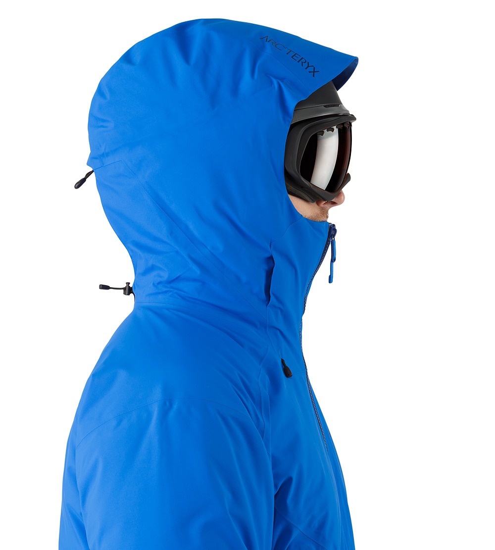 Blue Fissile Gore-Tex Jacket, Side View