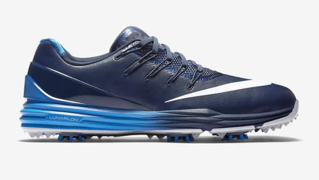 superior quality e3f3b 8ce75 ... Blue-Nike-Lunar-Control-4-Mens-Golf-Shoe- ...