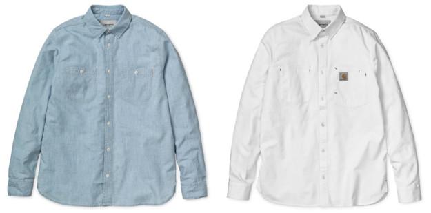 Carhartt WIP Spring-Summer 2016 Line, Shirts