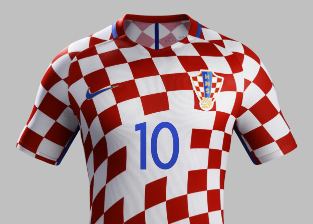 Croatia 2016 National Home Kit Jersey