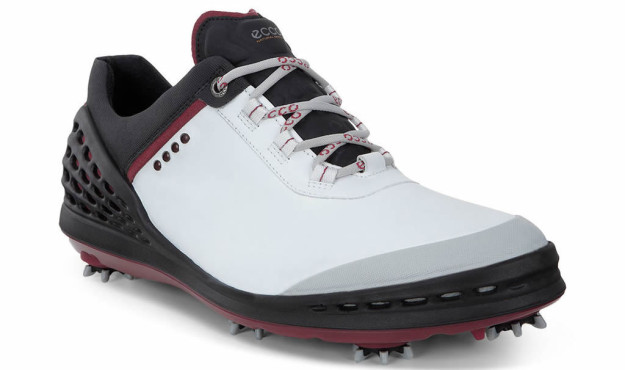 ECCO Cage golf shoe, White-Black Color