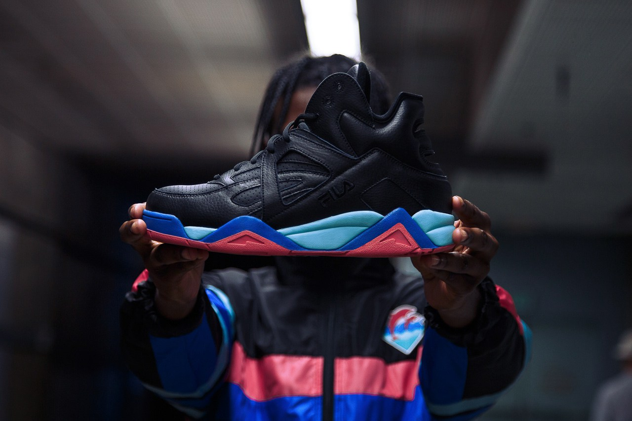 FiLA And Pink Dolphin Shoes