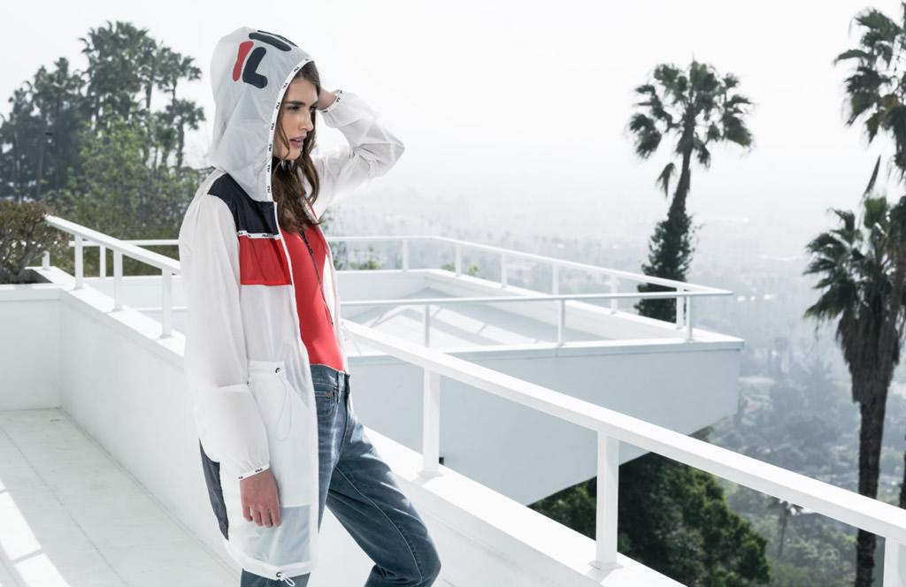 Heritage Apparel Collection By FILA for Spring 2016