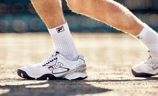New Cage Delirium Performance Tennis Shoe by FILA